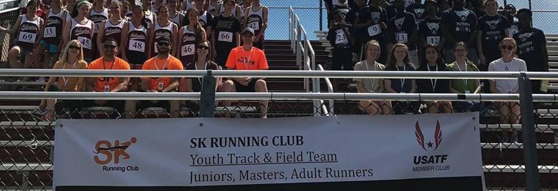 Hero sk running club team photo